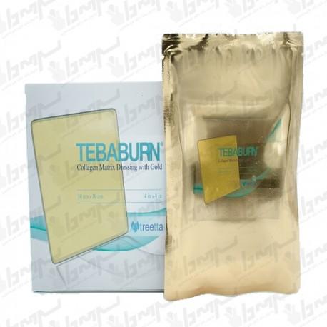 طبابرن( پانسمان ماتریکس کلاژن طلا) زخم های سطحی و عمیق10*20