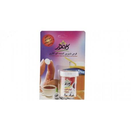 قرص شیرین کننده کم کالری کامور بسته 25