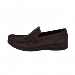 کفش مردانه دکتر فام کد 605سبیل دار قهوه ای