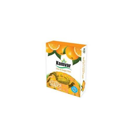 پودر ژله بدون قند با طعم پرتقال کامور
