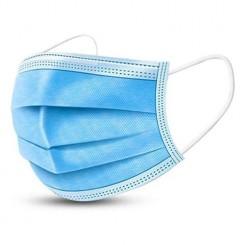 ماسک سه لایه آبی 50 عددی وارداتی